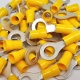 Durite Yellow 8.00mm Ring Automotive Crimp Terminal | Re: 0-001-12