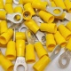 Durite Yellow 6.40mm Ring Automotive Crimp Terminal | Re: 0-001-22