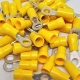 Durite Yellow 5.30mm Ring Automotive Crimp Terminal | Re: 0-001-23