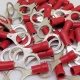 Durite Red 8.00mm Ring Automotive Crimp Terminal | Re: 0-001-48