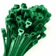 0-002-14 Pack of 100 Durite Green Cable Ties 200mm x 4.8mm