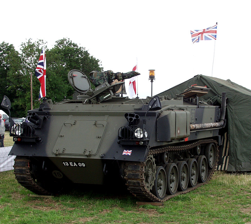 Peter's FV432 armoured personnel carrier refurbishment