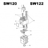 Albright SW120 and SW122 Replacement Components