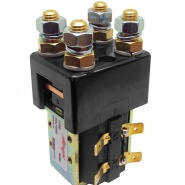 Albright Double Pole Single Throw Solenoid Contactors