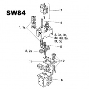 Albright SW84 Replacement Components
