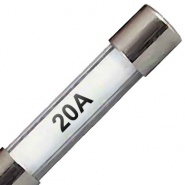 Packs of 10, 29mm Automotive Glass Fuses