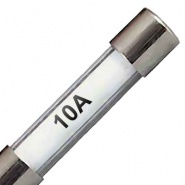 Packs of 10, 32mm Automotive Glass Fuses
