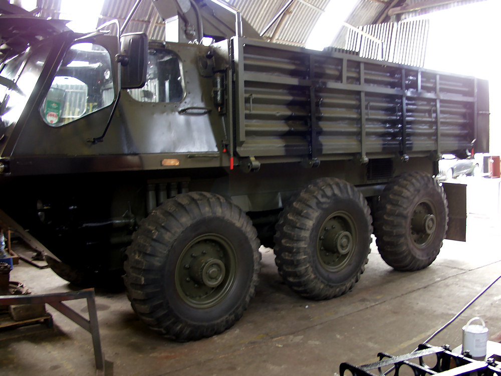 Alvis Stalwart 'Stolly' 1966 British Army Amphibious Truck