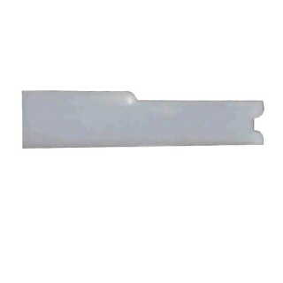 0-005-26 Pack of 50 White Post Fit Insulators 6.30mm
