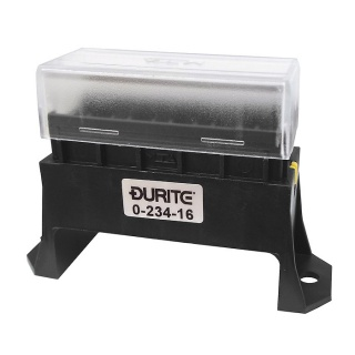 6 Way Standard Blade Fuse Box with Cover | Re: 0-234-16