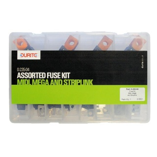0-235-04 Durite 67 Assorted Mini, Mega and Striplink Fuse Kit
