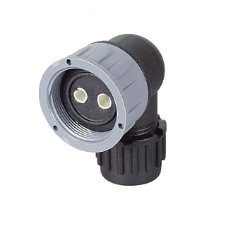 0-326-51 Schlemmer Type M24 DIN 2 Way 90 Degree Connector