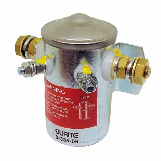 0-335-06 12V Make and Break Solenoid with Insulated Return 150A