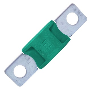 0-366-12 Durite Aftermarket Green Mega Type Fuse - 125A