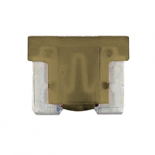 0-371-05 Pack of 10 Durite 5A Low Profile Mini Blade Fuse Tan