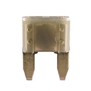 Durite 2A Grey Mini Blade or Spade Automotive Fuse | Re: 0-372-02