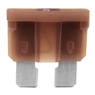 Durite Standard Automotive Blade Fuse - 5A Tan