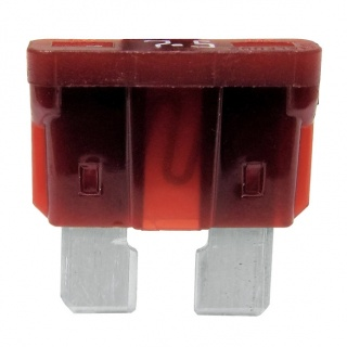 Durite 7.5A Brown Standard Automotive Blade Fuse | Re: 0-375-07