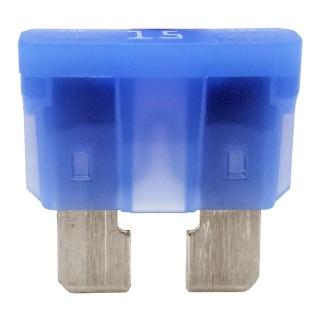 Durite 15A Blue Standard Automotive Blade Fuse | Re: 0-375-15