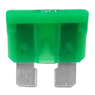Durite 30A Green Standard Automotive Blade Fuse | Re: 0-375-30