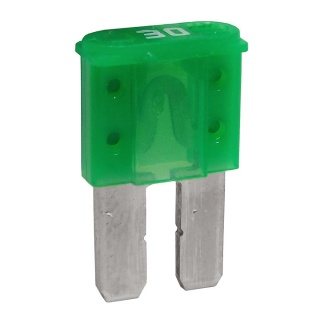 Durite 30A Green Micro 2 Automotive Blade Fuse | Re: 0-376-83