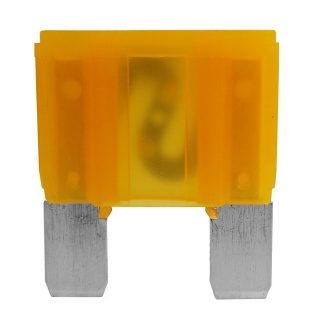 0-377-20 Pack of 2 Yellow Maxi Blade Fuse 20A