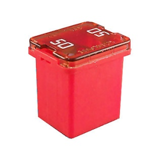 0-379-19 50A JCASE Automotive Low Profile Fuse Red