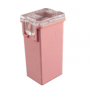 0-379-33 Pink Female JCASE Cartridge Automotive Fuse 30A