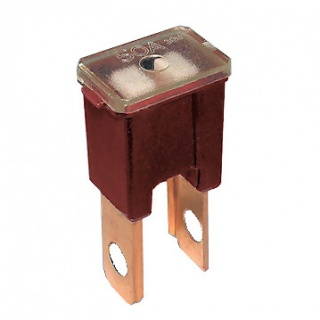 0-379-55 Red Male PAL Straight Leg Automotive Fuse 50A