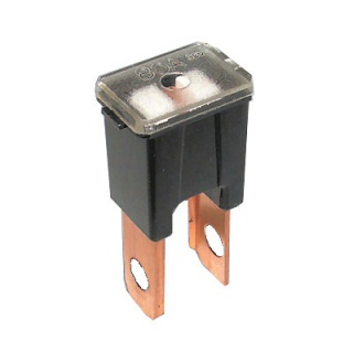 0-379-58 Black Male PAL Straight Leg Automotive Fuse 80A