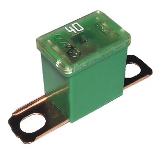 0-379-64 Green Male PAL Short Leg Automotive Fuse 40A