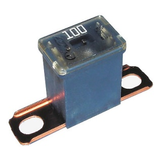 0-379-70 Blue Male PAL Short Leg Automotive Fuse 100A