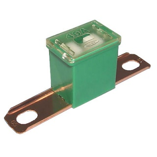 0-379-74 Green Male PAL Long Leg Automotive Fuse 40A