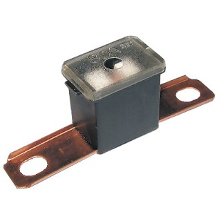 0-379-78 Black Male PAL Long Leg Automotive Fuse 80A