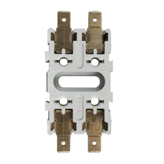 0-385-98 Base for Pin Mounted Circuit Breakers 6.3mm Blade Connection