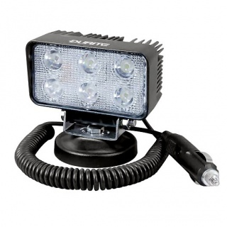 0-420-72 12V-24V 6 x 3W LED Compact and Powerful Magnetic Work Lamp