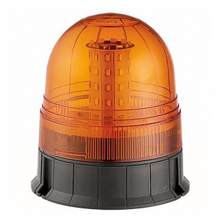 0-445-08 Durite 12V-24V Three Bolt Multifunction Amber LED Beacon