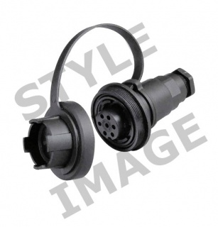 0-464-19 4 Pole 6A Caravan Style Trailing Socket