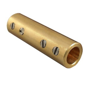 0-466-00 Pack of 10 Solid Brass Cable Connectors for Cable up to 25mm²
