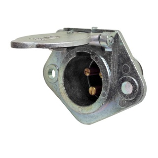 0-477-46 Clang 3 Pin 25A Plug for Trailers