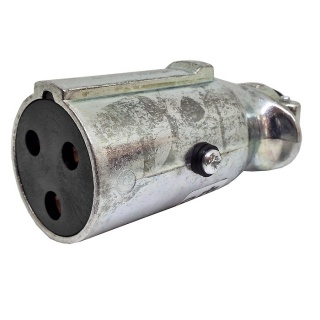 0-477-49 Clang 3 Pin 25A Trailer Socket