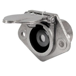 0-477-59 Clang Single Pin 300A Socket for Trailers