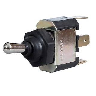 0-496-40 Splash-Proof On-Off-Momentary On Single Pole Switch 10A