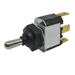 0-496-50 Splash-Proof Momentary On-Off-On Single Pole Switch 10A