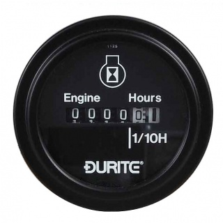 0-523-08 Durite Non Illuminated 10V to 86V Engine Hour Counter