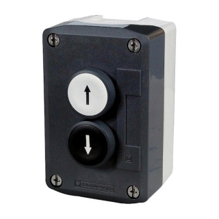 0-657-02 Two Button Single Pole Normally Open (NO) Switch Panel