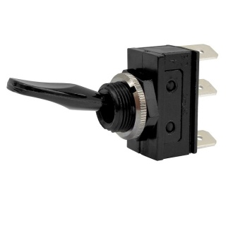 0-658-00 Changeover or On-Off 2 Position Single Pole Switch 10A