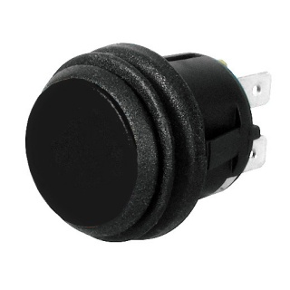 0-690-51 On-Off Single Pole Push Switch Non Illuminated 10A