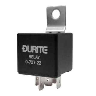 0-727-22 Durite 12V 2 x 25A Mini Double Make and Break Relay