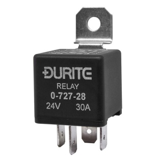 Durite 24V 30A Make and Break Relay with Diode | Re: 0-727-28